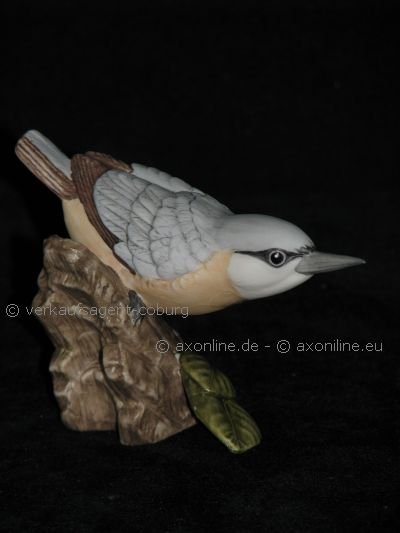goebel porzellan figur vogel bird kleiber nuthatch ovp ebay. Black Bedroom Furniture Sets. Home Design Ideas