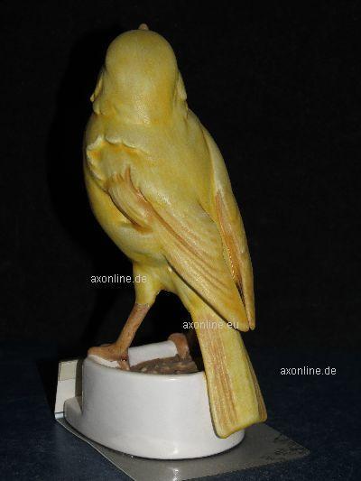 a015455 08 goebel archivmuster bunte vogelwelt serie 38 548 kanarienvogel tmk6 ebay. Black Bedroom Furniture Sets. Home Design Ideas